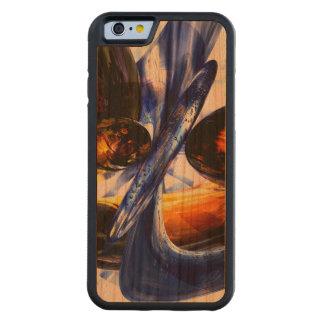 Extracto exaltado del resplandor funda de iPhone 6 bumper cerezo
