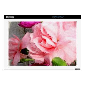 Extracto floral color de rosa hermoso 43,2cm portátil calcomanías