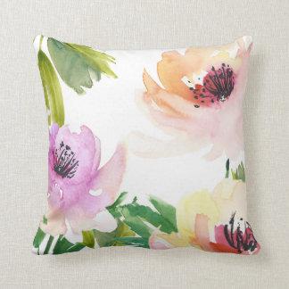 Extracto floral de moda de los rosas de la cojín decorativo