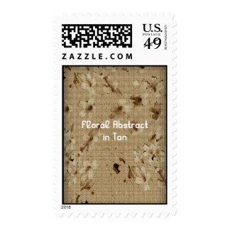 Extracto floral en moreno sellos