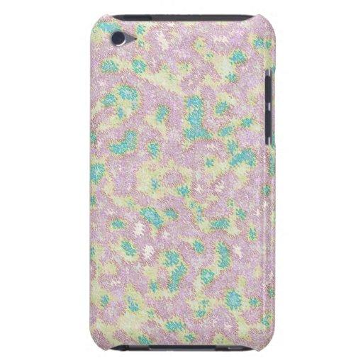 Extracto floral rosado iPod Case-Mate cárcasas