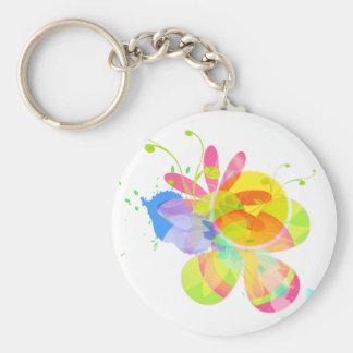 Extracto florido llaveros personalizados