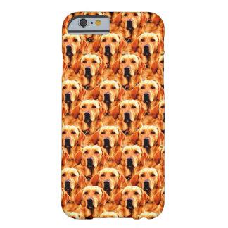 Extracto fresco del golden retriever del perrito funda de iPhone 6 barely there