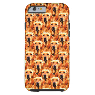 Extracto fresco del golden retriever del perrito funda de iPhone 6 tough
