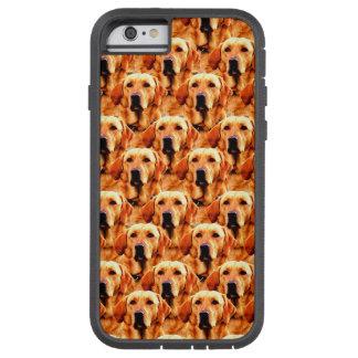 Extracto fresco del golden retriever del perrito funda para  iPhone 6 tough xtreme