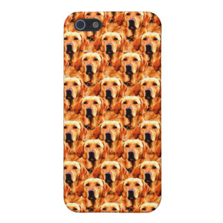 Extracto fresco del golden retriever del perrito iPhone 5 carcasas