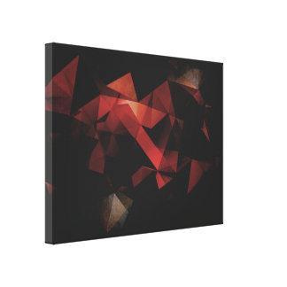Extracto geométrico del Grunge anaranjado