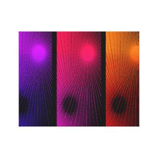 Extracto geométrico impresión en lienzo