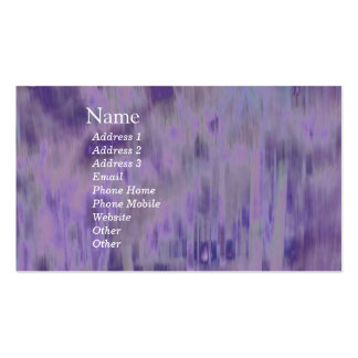 Extracto geométrico púrpura pálido de lujo del © P Plantillas De Tarjeta De Negocio