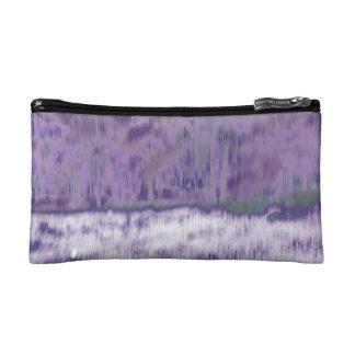 Extracto geométrico púrpura pálido de moda del © P