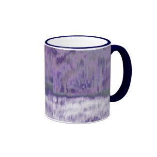 Extracto geométrico púrpura pálido de moda del © P Tazas