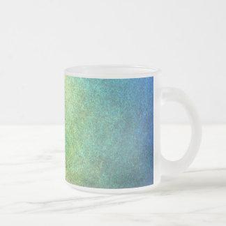 Extracto granoso del arco iris taza de cristal