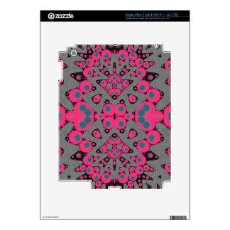 Extracto gris de las rosas fuertes iPad 3 skins