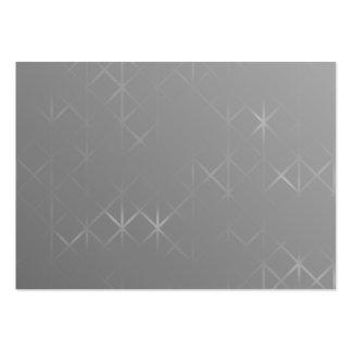 Extracto gris. Fondo brumoso del diseño de la Tarjetas De Visita Grandes