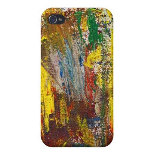 Extracto - Guash - alegría de la mañana iPhone 4 Carcasas