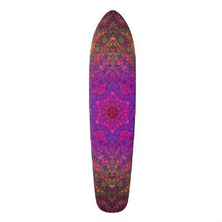 Extracto hermoso loco skateboard