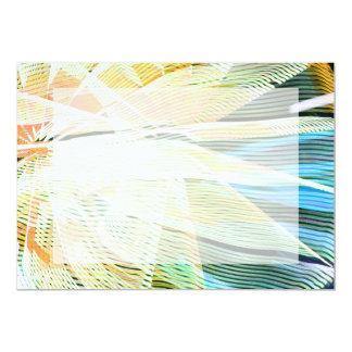 extracto intermediario del carnaval de las rayas invitación 12,7 x 17,8 cm