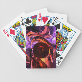 Extracto interno de las sensaciones barajas de cartas