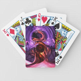 Extracto interno de las sensaciones baraja de cartas
