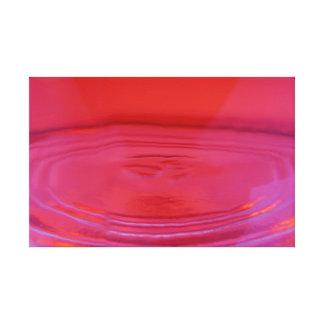 Extracto líquido del melocotón lienzo envuelto para galerias