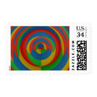 Extracto llamativo de la colección de las pinturas sellos