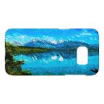 Extracto magnífico de las montañas de Wyoming Fundas Samsung Galaxy S7