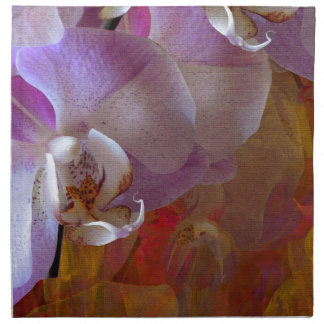 Extracto magnífico de las orquídeas de Orchidelia Servilletas