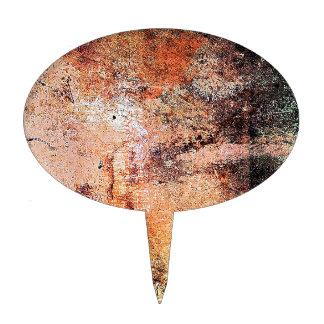 extracto marrón oxidado del humo de la quemadura d figuras para tartas