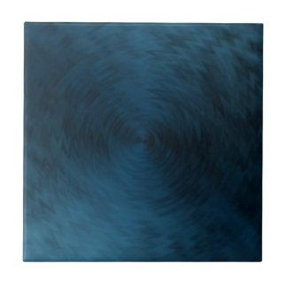 Extracto metálico de acero azul cepillado del meta azulejo cuadrado pequeño