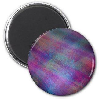 Extracto metálico multicolor de la simulación de l imán redondo 5 cm