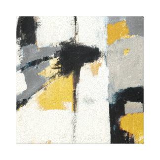 Extracto moderno impresión en lienzo