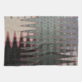 extracto moderno negro gris toalla