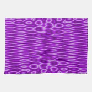 extracto moderno púrpura brillante toalla de mano