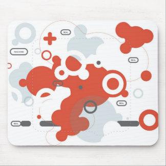 Extracto Mousepad de la máquina real Alfombrilla De Ratones