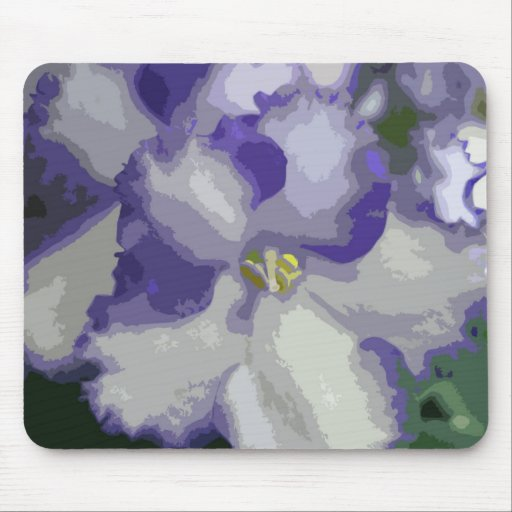 Extracto Mousepad de la violeta africana Tapete De Ratón