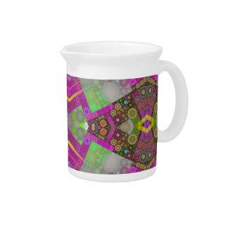 Extracto multi de los colores jarra de beber
