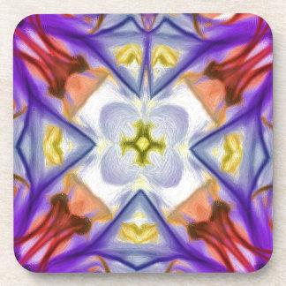Extracto multicolor de la mariposa de Kaleidescope Posavasos