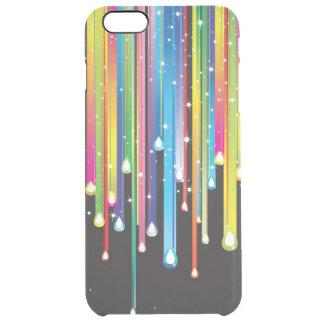 Extracto multicolor funda clearly™ deflector para iPhone 6 plus de unc