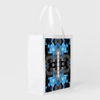 Extracto negro de la turquesa bolsas para la compra