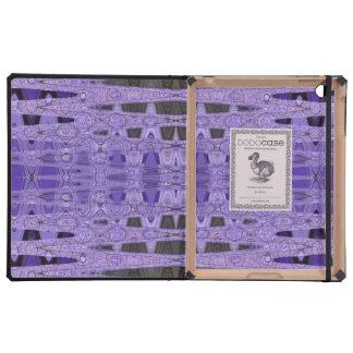 extracto negro púrpura iPad cobertura