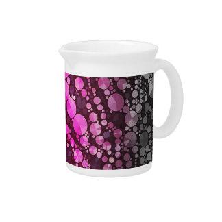 Extracto negro rosado jarras de beber