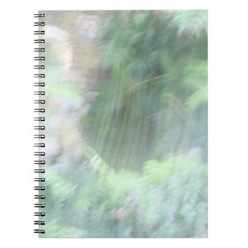 Extracto - nube libro de apuntes con espiral