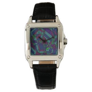 Extracto oscuro retro relojes