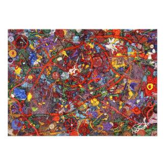 Extracto - pintura de la tela - cordura invitacion personal