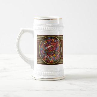 Extracto - pintura de la tela - cordura jarra de cerveza