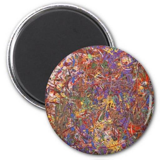 Extracto - pintura de la tela - teoría de la secue imán de frigorífico