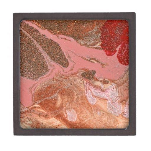 Extracto - pintura - el flujo del universo cajas de regalo de calidad