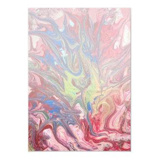 """Extracto - pintura - el significado de la vida invitación 5"""" x 7"""""""