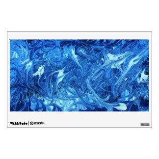 Extracto - pintura - océano profundamente vinilo