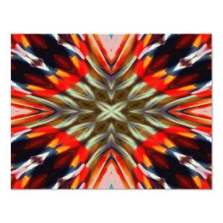 """Extracto psicodélico de la ilusión invitación 4.25"""" x 5.5"""""""